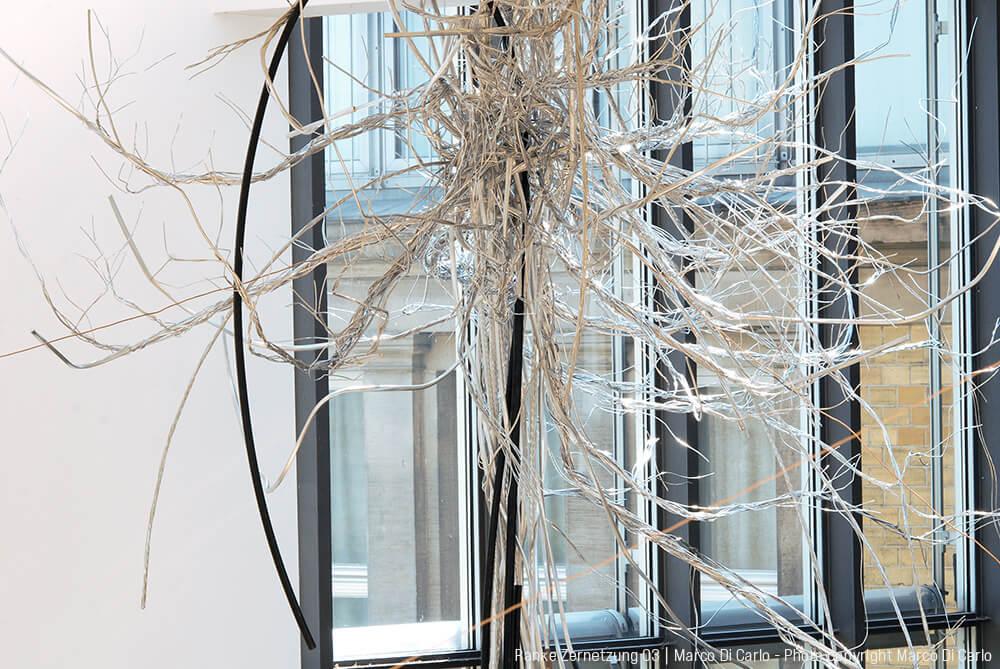 Marco Di Carlo - Sculpture - Ranke Zernetzung 03 - Photo copyright © Marco Di Carlo