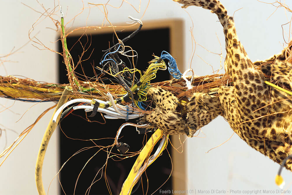 Marco Di Carlo - Zernetzung - Sculpture - Foerb Leopard 01 - Photo copyright - Marco Di Carlo