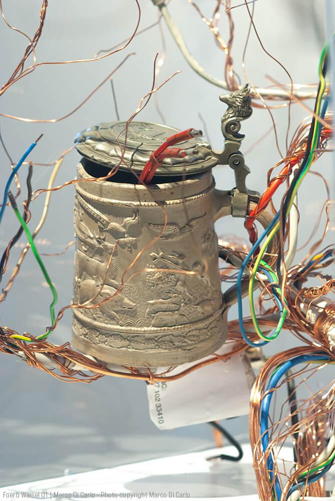 Marco Di Carlo - Sculpture - Foerb Wiesel 01 - Photo copyright © Marco Di Carlo